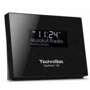 TechniSat 0000/4957 - DigitRadio 100 - DAB+ und UKW Radio - Schwarz