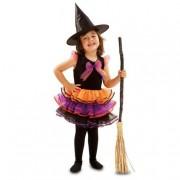 Viving Costumes S.L Disfarce InfantilBruxinha Fantasia 5-6 anos