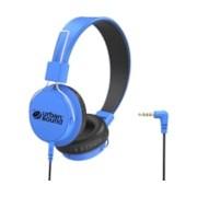 Verbatim Urban Sound Wired Stereo Headphone - Over-the-head - Circumaural - Blue, Black