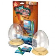 Set Acvariu Aqua Dragons Jurassic Time Travel Eggspress World Alive W4005