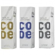 Wild Stone Code Platinum+Gold+Titanium combo Perfume Body Spray - For Men (pack of 3)