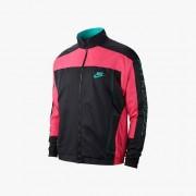 Nike Atmos Vintage Patchwork Track Jacket For Men In Black - Size Xs