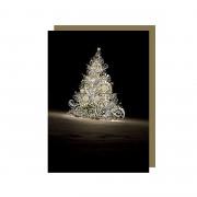 Ajándékkísérő Kártya - Bug Art - Karácsonyfa
