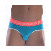 DMXGEAR Anatomic Fit Luxury Cotton Brief Underwear Turquoise DMX18AF01