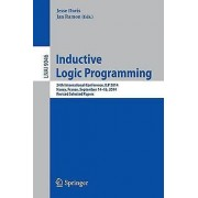 Inductive Logic Programming by Jesse Davis & Jan Ramon