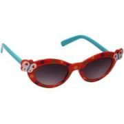 Redex Black Red Color Stylish Cat - Eye Women's Sunglasses