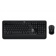 KBD, Logitech Advanced, Wireless, Keyboard and Mouse Combo (920-008806)