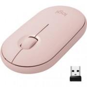 Logitech Optická Wi-Fi myš Logitech M350 910-005717, růžová