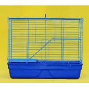 Max R228 Klec modrá pro křečka - klec na hlodavce 710 x 460 x 580 mm