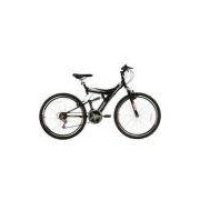 Bicicleta Aro 26 Mtb Tb300 Full Susp. Aero 18v Preto Fosco Track Bikes