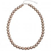 Evolution Group Perlový náhrdelník 32011.3 bronze