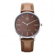 Shengke Brązowy zegarek damski SK
