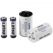 EH LEISE-806 Conjunto De Convertidor De Batería (n º 1 Batería Convertidor 2 + 5 AA2700mAh Ni-MH Batería Recargable 2)