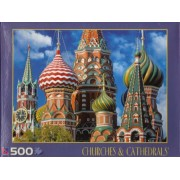 St. Basils Cathedral 500 Count Puzzle #40230-12 (Churches & Cathedrals)