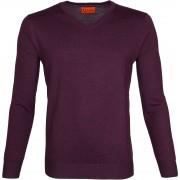 Suitable Pullover Aron Merino Lila - Violett Größe XXL
