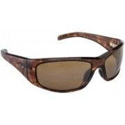 Maui Jim Round Sunglasses(Brown)