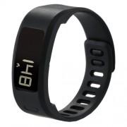 For Garmin Vivofit 1 Smart Watch Silicone Watchband Length: about 21cm(Black)