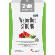 WaterOut STRONG Night - najszybszy efekt wysmuklający. Malinowy napój. 10 saszetek