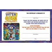 Vacation Bible School (Vbs) 2017 Super God! Super Me! Super-Possibility! Leader Certificates (Pkg of 10)
