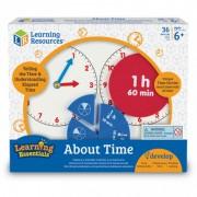 Invatam totul despre timp Fractii Learning Resources