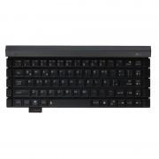 LG Rolly 2 Bluetooth Keyboard - сгъваема безжична клавиатура за таблети, смартфони и компютри с Bluetooth (черна)