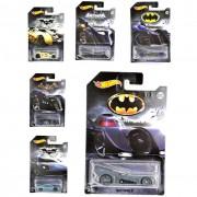 Mattel modellini hot wheels tematizzati batman veicoli , fkf36 assortiti (no scelta)