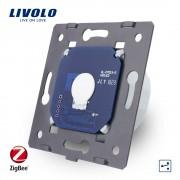 Modul Intrerupator simplu cap-scara cap-cruce cu touch Livolo - protocol ZigBee