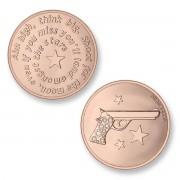 Mi Moneda MON-AIM-03 Aim High Pistol rosekleurig Small