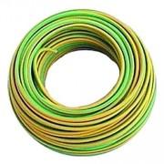 Matassa rotolo rotolo matassa cavo elettrico unipolare giallo/verde 100mt sez. 1x2,5