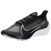 Nike Zoom Gravity- Tenis para Correr para Mujer, Color Black/Metallic Silver-Wolf Grey-White, 8