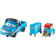 Set de masinute metalice Roger Wheeler si Dinoco Pitty Disney Cars