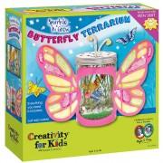 Set creatie copii FABER-CASTELL Grow and Sparkle Terariu Fluture, FC006121