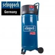 Компресор Scheppach HC50V, 10бара, 50л