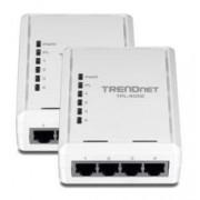 TrendNet Kit de 2 adaptateurs CPL 500 Mbps Trendnet ''TPL-405E'' - 4 ports