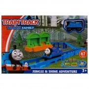 Влак и ЖП спирка EmonaMall, синьо, за деца над 3 години - Код W2884