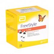 Freestyle Lite strisce per la misurazione della glicemia (25 pz)