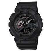 Reloj analogico-digital genuino casio g-shock limited modelo GA-110MB-1AER para hombre-negro