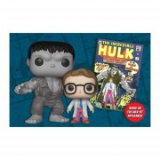 Funko Pop Hulk Bruce Banner Marvel Box Playera Parche Dorbz