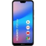 Telefon mobil Huawei P20 lite 64GB Dual Sim 4G Midnight Black Bonus Bricheta Electronica USB ABC