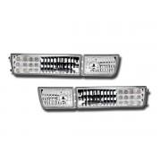 Semnalizator fata cu LED fara lampi de ceata cristal crom VW Golf 3 Vento 1HX0. 1EX0 91-97