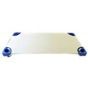 Fényes felületű vastagabb pamutvászon 140 cm - fekete