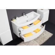 Kolpa san OUI 80 szekrény mosdóval - fehér