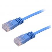 Cablu Plat 20 m CAT6 UTP Albastru