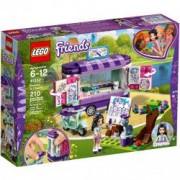 LEGO R Friends Standul de arta al Emmei 41332