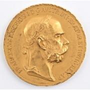Vzácná zlatá medaile VIRIBUS UNITIS