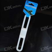 Conveniente Tie-en la banda de silicona para luz de bicicletas (colores surtidos)