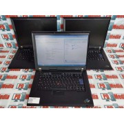 "Laptop Lenovo IBM R61e Celeron 1.86 Ghz HDD 40GB RAM 2GB Wi-fi 15.4"""
