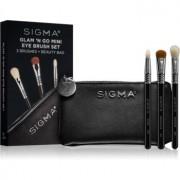 Sigma Beauty Glam N Go set de pensule cu geantă