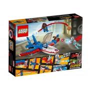 CAPITANUL AMERICA SI URMARIREA AVIONULUI CU REACTIE - LEGO (76076)