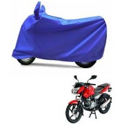 Intenzo Premium Full Blue Two Wheeler Cover for Bajaj Pulsar 135 LS DTSi